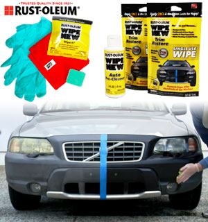 Rust-Oleum Wipe New Total Car Restore Kit - #8902
