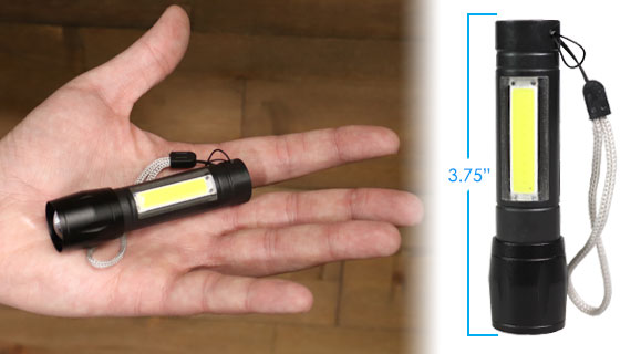 Rechargeable Micro-Flashlight - The Most Powerful Micro Flashlight Ever!