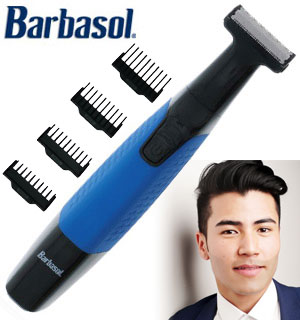 Barbasol Power Blade All-In-One Shaver And Trimmer W/ 4 Cutting Combs - #8914