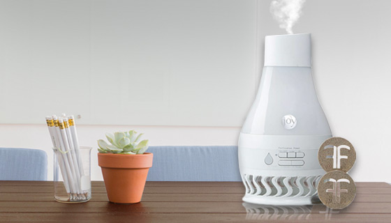 Forever Fragrant AirFLO Humidifier and Air Purifier with Bonus Scent Discs