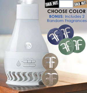 Forever Fragrant AirFLO Humidifier and Air Purifier with Bonus Scent Discs - #8918