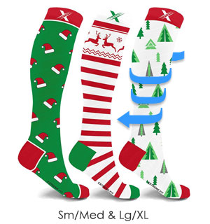 Holiday Compression Socks - #8935