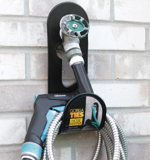 Heavy Duty, Portable Hose Holder