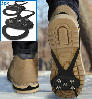 Ice Traction Cleats - No Slip Snow and Ice Gripper - #8957