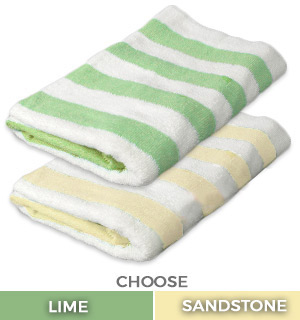 Resort Style Cabana Towels - #8981