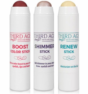 Trio Makeup Sticks by Third Age Skincare - #9003