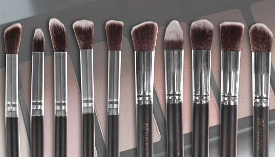 Professional 10pc Brush Set by Baby Beauty Forever Young