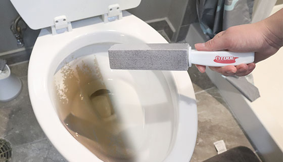 Pumice Stone Cleaner: Removes Tough Stains from Toilets, Tile, Sink, and more...