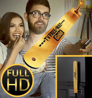 Amplified HD TV Free Way Gold Antenna