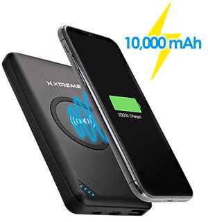 10,000mAh Wireless Charger Power Bank wi… - #9052