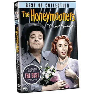 The Best of The Honeymooners: The Lost Episodes DVD