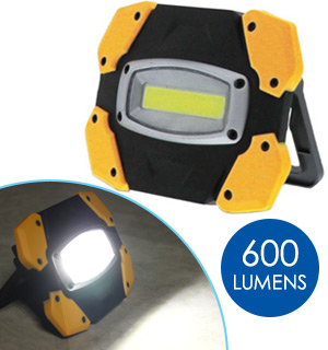 600 Lumen COB Floodlight By Farpoint - #9069