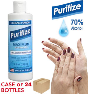 Case of 24 - Purifize 8 oz Hand Cleaner - #9106-CASE