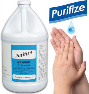 1 Gallon of Purifize Hand Sanitizer - Ma… - #9106-GALLO