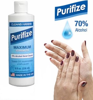 Purifize 8 oz Hand Cleaner