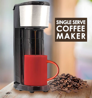 Single Serve Coffee Maker - #9116