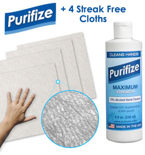 Purifize Disinfectant Wipe Kit - #9120