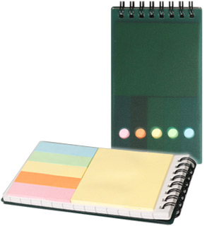 Pocket Notepad and Sticky Notes - #9127