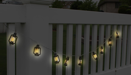 10 Mini LED Lantern String Lights