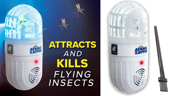 The 2-in-1 Atomic Bug Zapper and Ultrasonic Rodent Repeller
