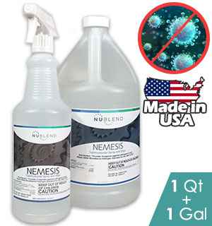 Nemesis Disinfectant Cleaner Bundle - Kills 99.9% of Germs, Viruses and more - #9162