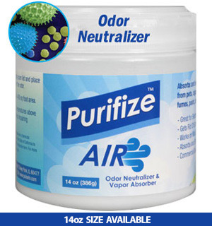 Purifize Air: Odor Neutralizer & Vapor Absorber