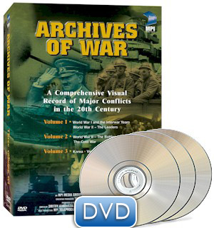 Archives of War: 3 Volume Boxed Set DVD - #9179