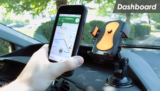 3-in-1 Suction Cup Phone Mount by Armor All