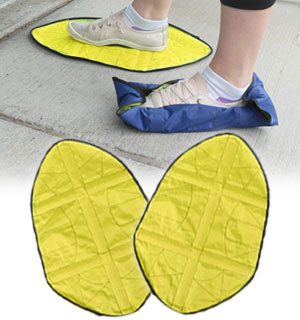Snap-on Waterproof Shoe Covers - One Pai… - #9229