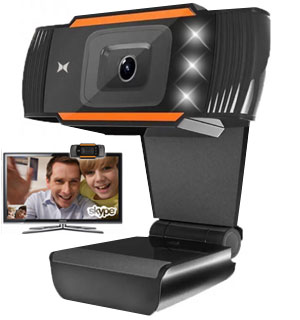 Studio Web Camera with Microphone and LE… - #9238
