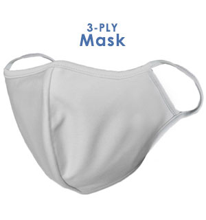 3-Ply Reusable Fabric Face Mask - Maximum Protection & Comfort