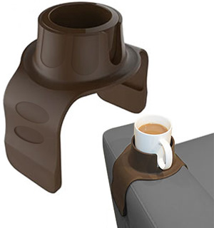 Silicone Anti-Spill Cup Holder for Sofas, Couches, and Armchairs