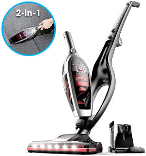 High Power Cyclonic ROOMIE TEC Vincent 2-in-1 Cordless Vacuum Refurbished