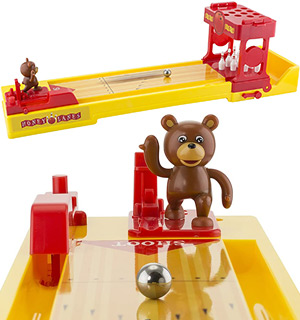 Bear Bowling - Fun Tabletop Game For Kid… - #9386