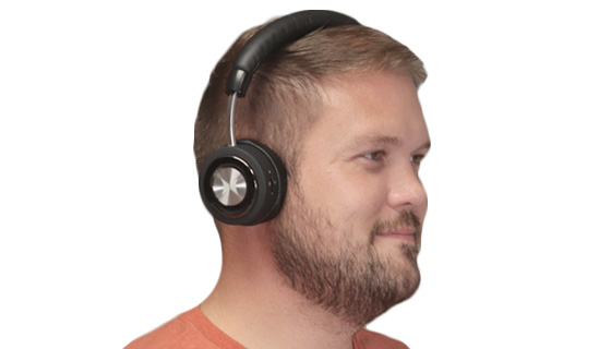 Soundlux Wireless Active Noise-Cancelling Headphones