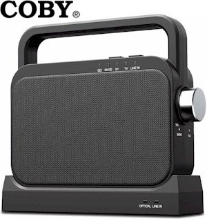 Coby Wireless TV Speaker: Portable Hearing Assistance