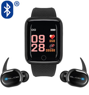 Fitness Tracker Smart Watch and True Wir… - #9446