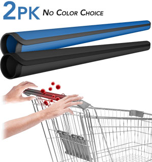 Reusable/Washable Shopping Cart Handle Wrap 2-Pack