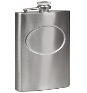 Stainless Steel 8oz Flask - #9629