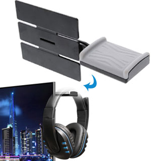 Monitor Mount for Headphones