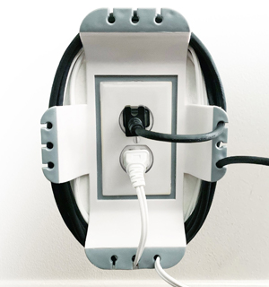 Cable Outlet Organizer by Ideaworks
