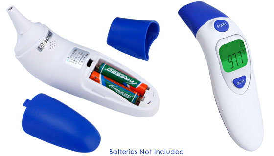 Color-Coded Infrared Thermometer
