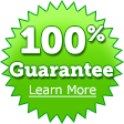 100% Guarantee Learn More