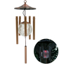Solar Color-Changing Wind Chime - #6577