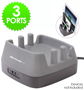 3 Port USB Charging Block - #6877