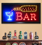 Animated LED Bar Sign - #7134