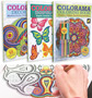 Colorama Adult Coloring Books - Deluxe Kit with Colored Pencils
